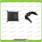 Kit Supporto con Pannello Solare 10W 12V EJ con Testapalo