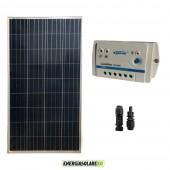 Kit Starter Pannello Solare NX 150W 12V Regolatore PWM 10A 12V Epsolar Serie LS