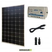 Kit Pannello Solare Fotovoltaico 300W 24V  Regolatore PWM 10A LS1024B con cavo USB-RS485