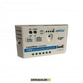 Regolatore di Carica 10A 12V serie EU con uscita USB da 5V/1.2A