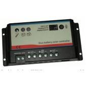 Regolatore di carica REGDUO (doppio batteria) 10A 12-24V CAMPER