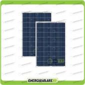 Stock 2 Pannelli Solari 100W 12V