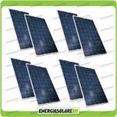 Stock 8 Pannelli Solari 200W 12V