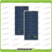 Stock 2 Pannelli Solari 30W 12V