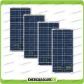 Stock 4 Pannelli Solari 30W 12V