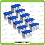 Stock 10 Batterie UCG100 10560Wh