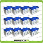 Stock 12 Batterie UCG100 12672Wh