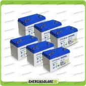 Stock 6 Batterie UCG100 6336Wh