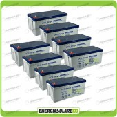 Stock 8 Batterie UCG200 15360Wh