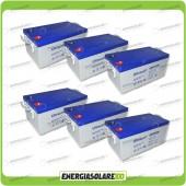 Stock 6 Batterie UCG250 15408Wh