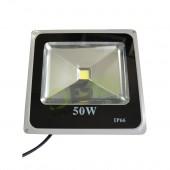 Faro LED Slim 50W 230V a Luce Fredda in Alluminio IP66