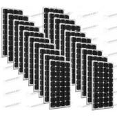 Set 20 x Pannelli Solari Fotovoltaico 300W Europeo 24V tot. 6000W Casa Baita Stand-Alone