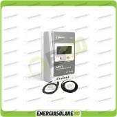 Kit Regolatore di Carica Epsolar Tracer Serie A 20A 12-24V 100Voc con Cavo USB-RS485 e Sensore di Temperatura