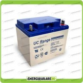 Batteria Solare AGM Ultracell 38AH 12V Deep Cycle x Impianti Stand-alone Inverter