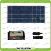 Kit Solare Camper 150W 12V regolatore di carica doppia batteria REGDUO MC-4