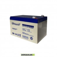 Batteria Ultracell Gel 12Ah 12V Deep Cycle