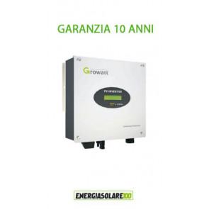 Inverter di Connessione a Rete Growatt 1500-S 1500W Certificato CEI 0-21 per impianto fotovoltaico