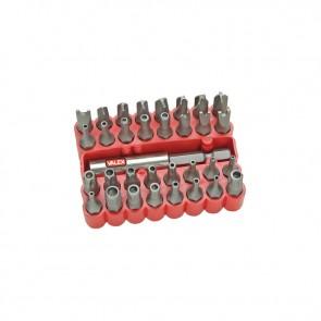 inserti magnetici per trapano S 33A  VALEX  torx esagonali, croce, flat 1460678