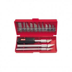 Coltelli tagliabalsa 16 pz VALEX assortimento di cutter 1463098 VALEX