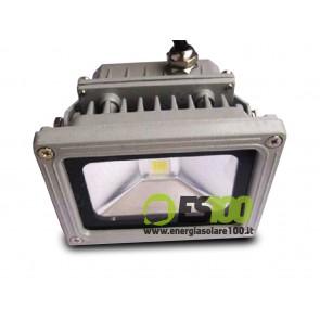 Faro LED 10W 24V IP65 Alta Luminosità