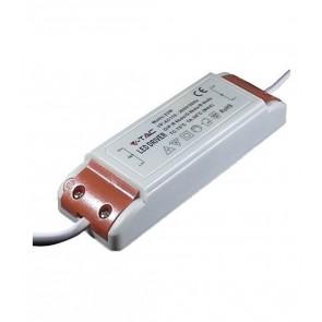 Alimentatore Driver LED 12 VAC 22 Watt per faretto/pannello LED da incasso IP20 V-TAC 8038