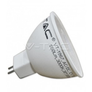 FARETTO LED 7 W MR16 GU5.3 12 V AC/DC 38° 550 LM V-TAC VT-1967