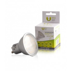 FARETTO LED 5 W GU10 220 V 28 SMD LED 2835 FORCE LIGHT