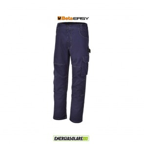 Pantaloni da lavoro in T/C twill blu BETA TG. M