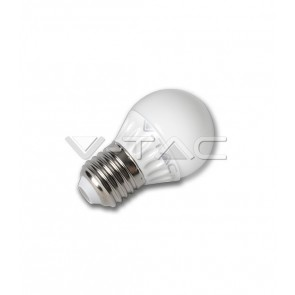 LAMPADINA LED E27 6 W G45 MINIGLOBO V-TAC MOD VT-1879 COLORE LUCE A SCELTA