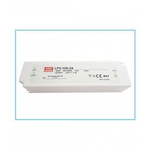 ALIMENTATORE 100 W 4.2 A 220V 24 V DC WATERPROOF IP67 MEANWELL LPV-100-24