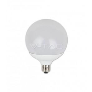 LAMPADINA LED 18 W GLOBO 120 E27 LUCE BIANCA V-TAC VT-1899