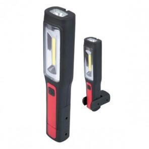 Torcia Led 3 w Lampada  Magnetica Portalampada Portatile + USB ricaricabile