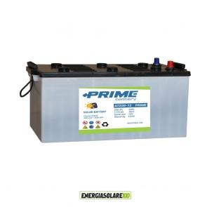 Batteria Prime Atos 220Ah 12V Piastra Piana