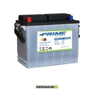 Batteria Solare Prime ad acido libero AT85 85Ah 12V pannello, camper, baite