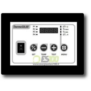 Centralina Differenziale Thermo Solar Box 200 per Solare Termico
