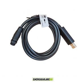 Cavo di collegamento a Pc EpSOLAR RS485 -USB per regolatore di carica Tracer serie BP
