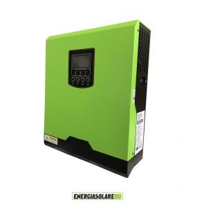 Inverter Solare Fotovoltaico 3KW 24V con Regolatore di carica 50A PWM