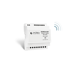 Ricevitore radio Din Rail On/Off - Dimmer 4x500W Edisio Illuminazione - Led - Dimmer EDR-D4