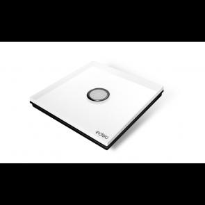 Interruttore wireless - bianco 1 canale base nera Diamond Edisio illuminazione tapparelle cancelli dimmer EFCW-B1