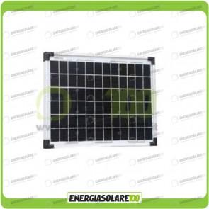 Pannello Solare Fotovoltaico 10W Policristallino Serie EJ
