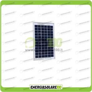 Pannello Solare Fotovoltaico 5W Policristallino Serie EJ