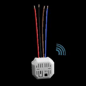 Micromodulo radio On/Off - Apre/Stop/Chiude Edisio Illuminazione Tapparelle Tende motori 230V EMV-400