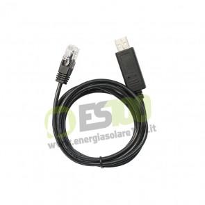 Cavo di Collegamento a PC EpSolar USB - RS485 per Regolatori Serie LS-B, VS-B, Tracer B