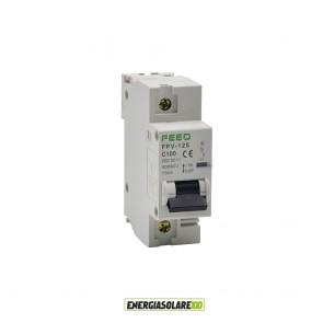 Interruttore Automatico Magnetotermico in corrente continua 125A 1P 250VDC