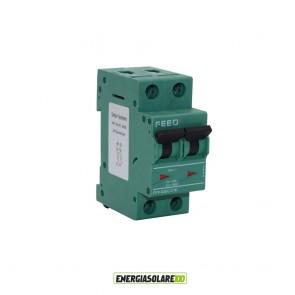 Interruttore Automatico Magnetotermico 16A 2P in corrente continua