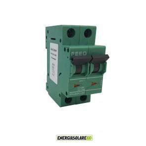 Interruttore Automatico Magnetotermico in corrente continua 20A 2P 800VDC