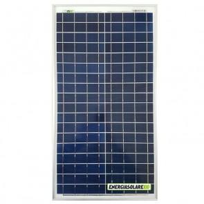 Pannello Solare Fotovoltaico 30W 12V Carica Batteria Auto Camper Nautica Allarme