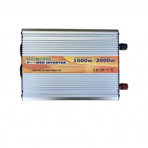 Inverter 1000W 12V 230V onda modificata camper auto barca