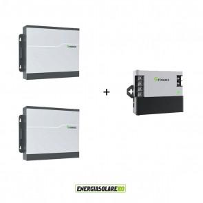 Kit 2 Batterie Litio Growatt GBLI10000MB 4875 Wh Impianti connessi alla rete CEI 0-21 Storage + Master Box