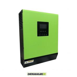 Inverter Ibrido Solare Fotovoltaico Genius30 3KW 24V con Regolatore di Carica 50A 1500W PWM